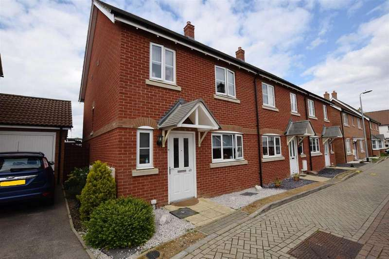 3 Bedrooms End Of Terrace House for sale in Teal Avenue, Mayland