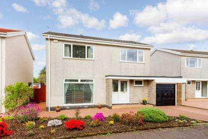 4 Bedrooms Detached House for sale in Poplar Drive, Milton of Campsie, Glasgow, East Dunbartonshire