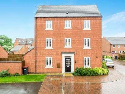 4 Bedrooms Semi Detached House for sale in Falcon Way, Hucknall, Nottingham, Nottinghamshire