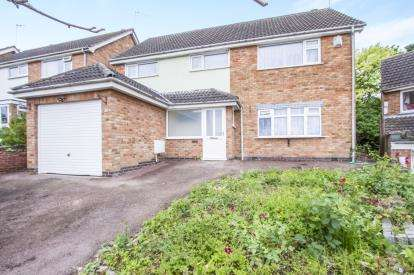 5 Bedrooms Detached House for sale in Harefield Avenue, Rowley Fields, Leicester, Leicestershire