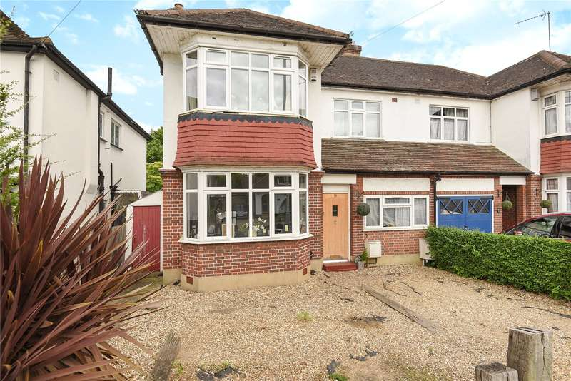 3 Bedrooms Semi Detached House for sale in Elm Avenue, Ruislip, Middlesex, HA4