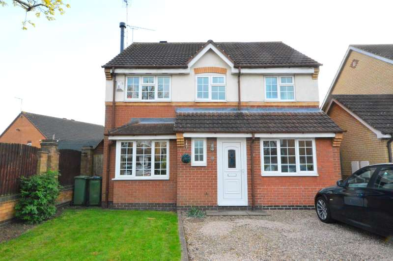 4 Bedrooms Detached House for sale in Fox Covert, Whetstone, Leicester, LE8 6ZY