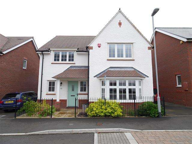 4 Bedrooms Detached House for sale in Barrington Way, Wellington TA21