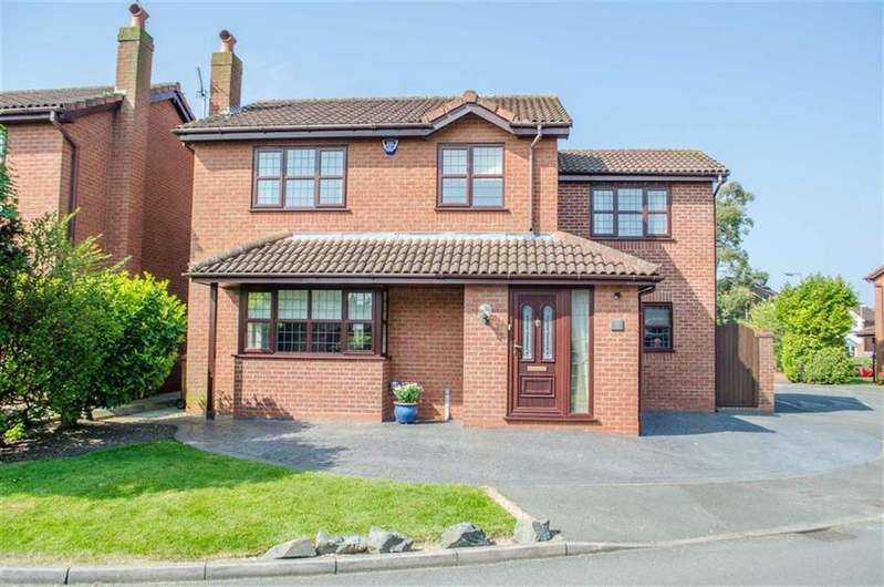4 Bedrooms Detached House for sale in Birch Croft, Mancot, Flintshire, Deeside, Flintshire