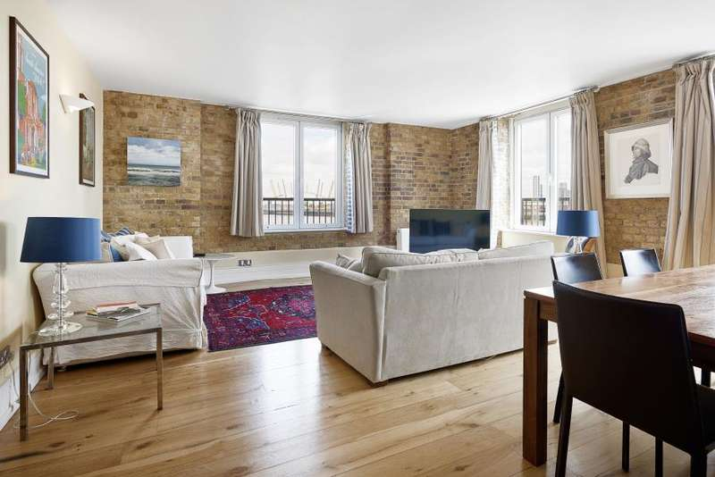 3 Bedrooms Apartment Flat for sale in Cubitt Wharf, Storers Quay, E14