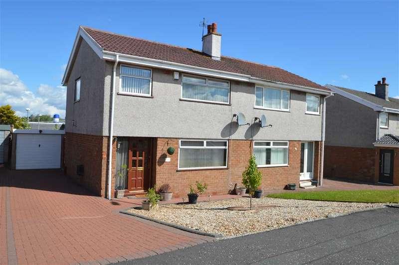 3 Bedrooms Semi Detached House for sale in Loch Park Avenue, Carluke