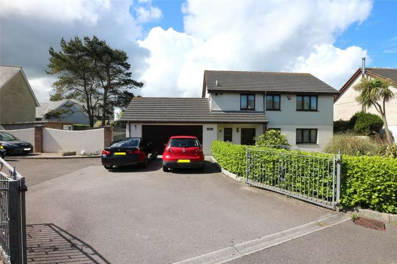 4 Bedrooms Detached House for sale in Killivose Gardens, Camborne