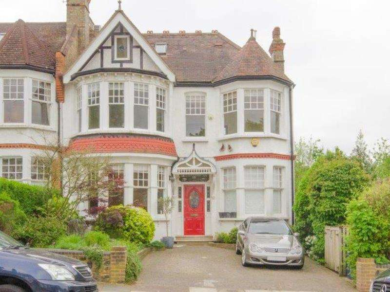 5 Bedrooms Semi Detached House for sale in Victoria Avenue, N3