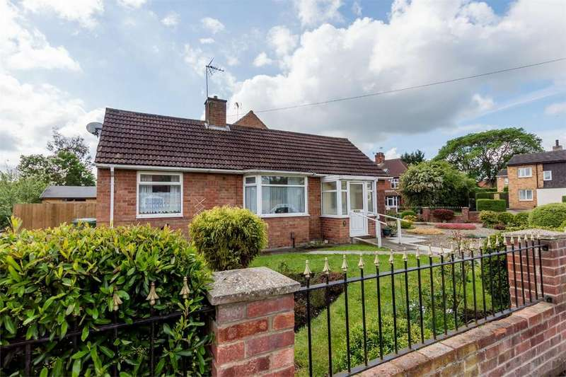 1 Bedroom Detached Bungalow for sale in Lowfields Drive, Acomb, YORK