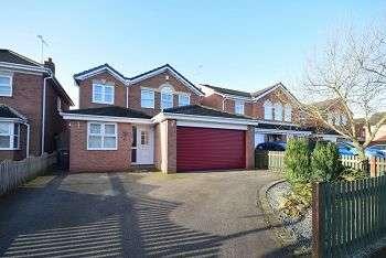 4 Bedrooms Detached House for sale in Avon Way, HILTON DE65 5HB