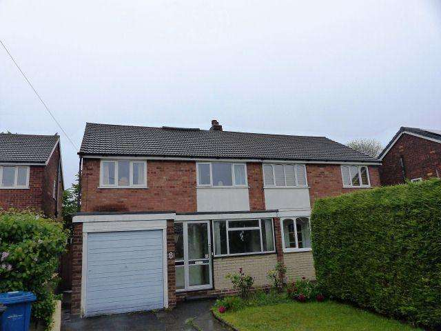 3 Bedrooms Semi Detached House for sale in Tudor Close,Burntwood,Staffordshire