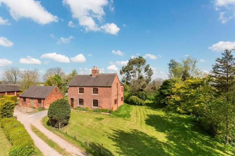 4 Bedrooms Farm House Character Property for sale in Eaton Barn Farmhouse, Off Waldley Lane, Ashbourne