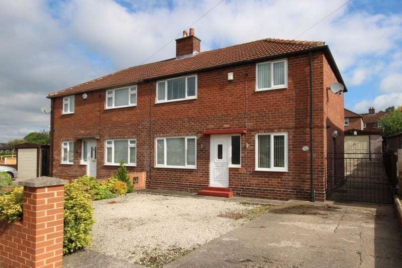 3 Bedrooms Semi Detached House for sale in Springwell Avenue, Swillington