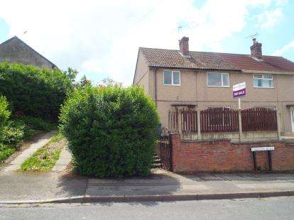 3 Bedrooms Semi Detached House for sale in Preston Road, Rainworth, Mansfield
