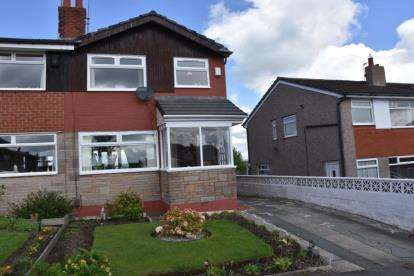 3 Bedrooms Semi Detached House for sale in Openshaw Drive, Pleckgate, Blackburn, Lancashire