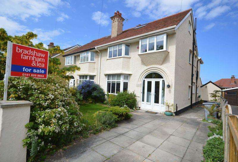 5 Bedrooms Semi Detached House for sale in Dovedale Road, Hoylake