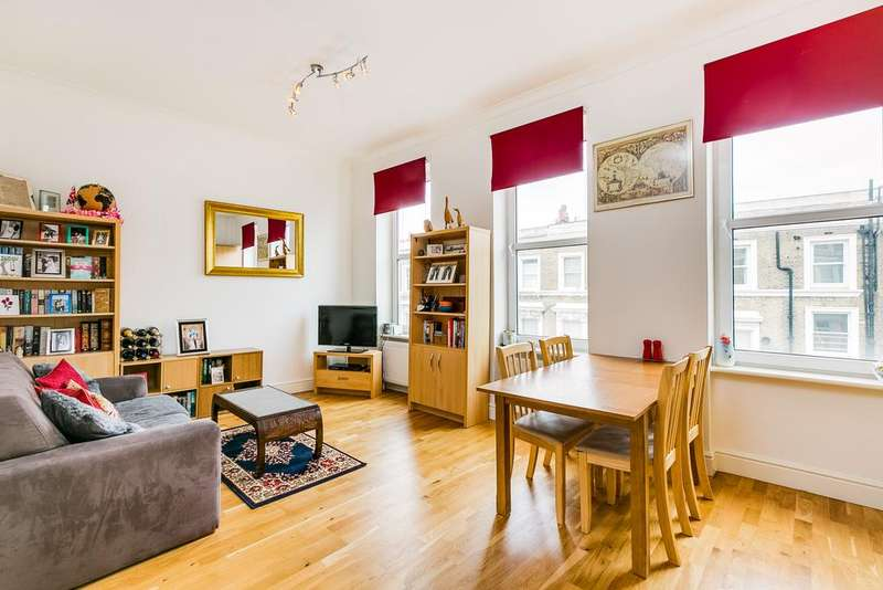 1 Bedroom Flat for sale in Barons Court Road, London
