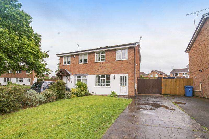 2 Bedrooms Semi Detached House for sale in Ingliston Close, Alvaston, Derby