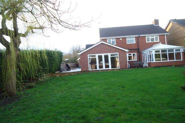 4 Bedrooms Detached House for sale in Warrington Drive, Groby, Leicester, LE6