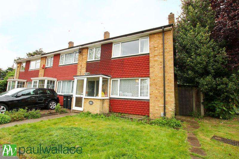 3 Bedrooms End Of Terrace House for sale in Hydefield Close, Winchmore Hill
