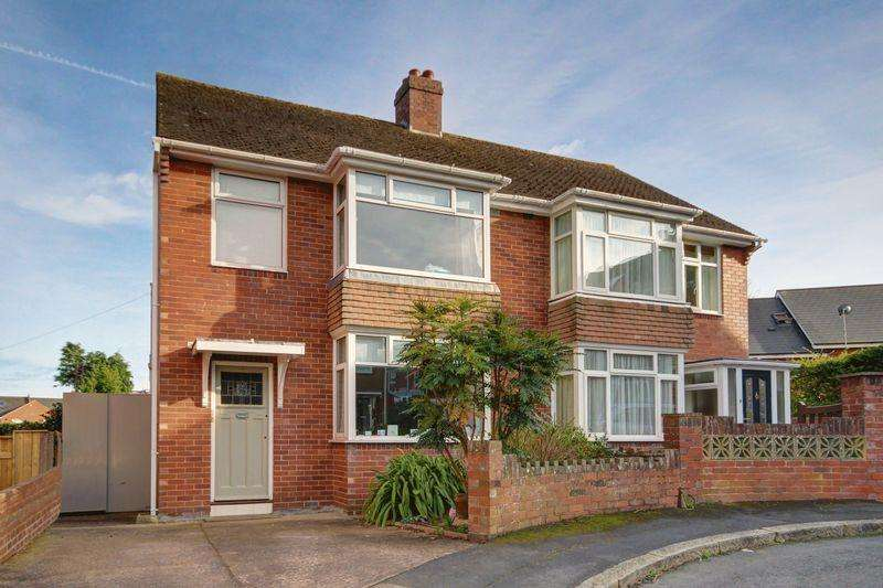 3 Bedrooms Semi Detached House for sale in Hanover Close, Exeter