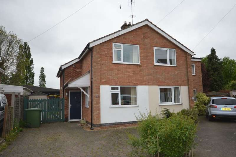 2 Bedrooms Semi Detached House for sale in Manor Road, Cosby, Leicester, LE9