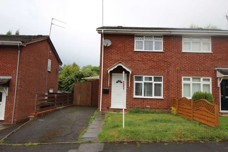 2 Bedrooms Semi Detached House for sale in Paxford Close, Redditch, B98