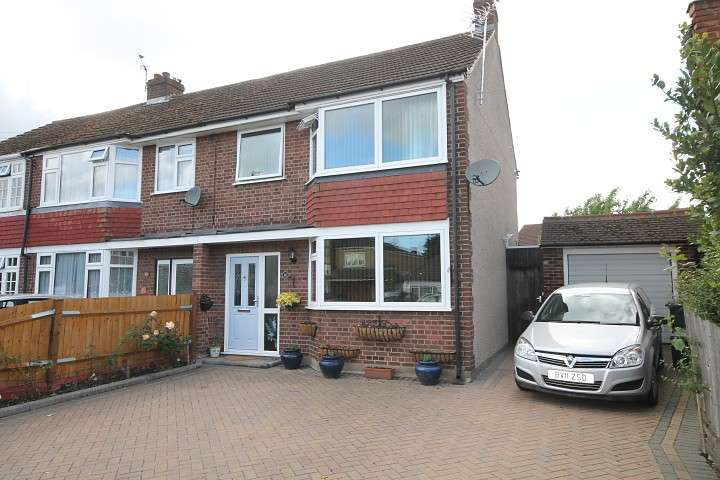 3 Bedrooms Semi Detached House for sale in Swan Road, Feltham, TW13