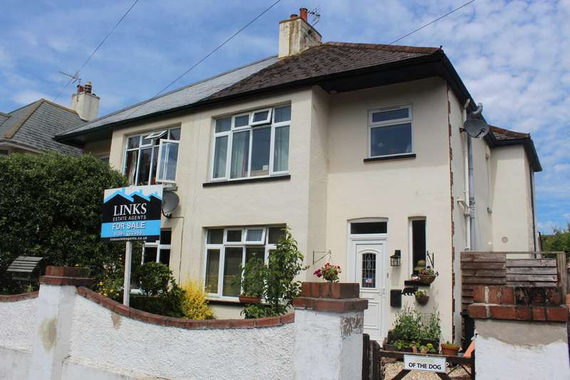 3 Bedrooms Semi Detached House for sale in Southern Road, Exmouth