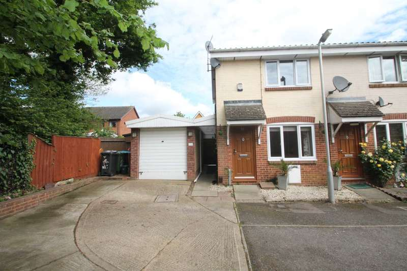 2 Bedrooms End Of Terrace House for sale in Hales Park Close, Hemel Hempstead