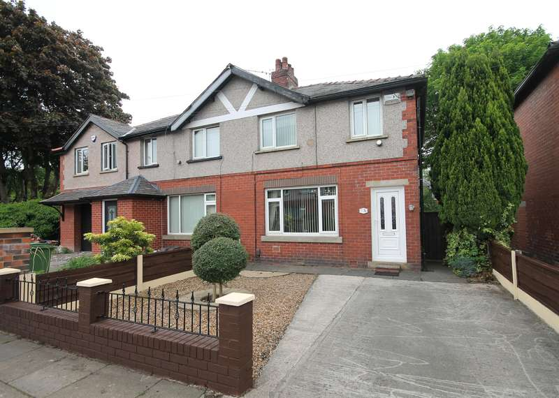 3 Bedrooms Semi Detached House for sale in Hulme Road, Radcliffe, Manchester, M26 1EY