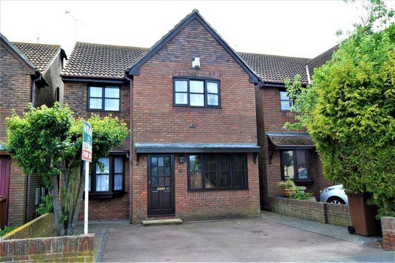 4 Bedrooms Detached House for sale in Tufton Road, Rainham, Kent, ME8