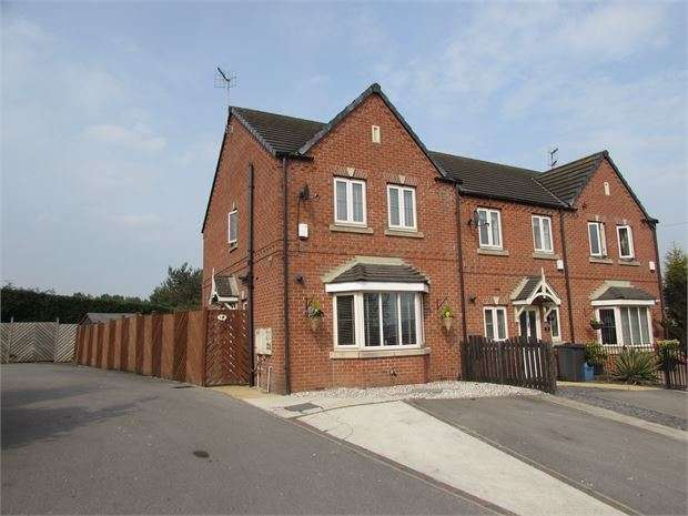 3 Bedrooms Town House for sale in Durham Way, Parkgate, Rotherham, S62 6FL