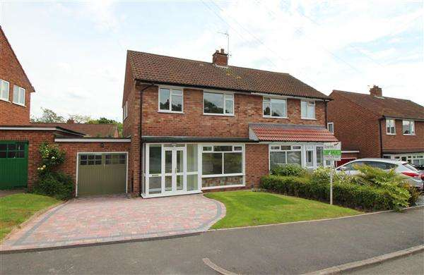 3 Bedrooms Semi Detached House for sale in Ryebank Close, Bournville