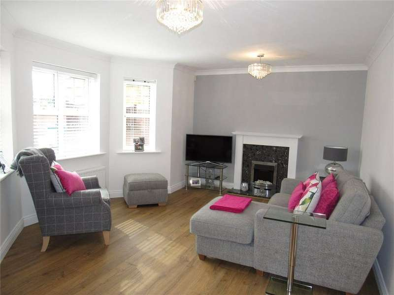 2 Bedrooms Apartment Flat for sale in Limestone Rise, Mansfield, Nottinghamshire, NG19