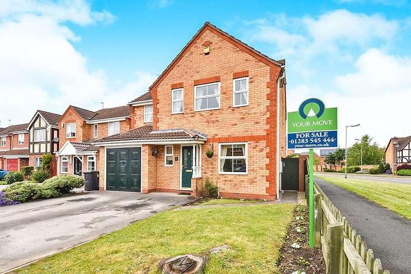 4 Bedrooms Detached House for sale in Ratcliffe Avenue, Burton on Trent, DE14