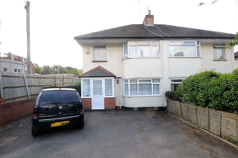 3 Bedrooms Semi Detached House for sale in Station Road, Ashley Cross, Poole