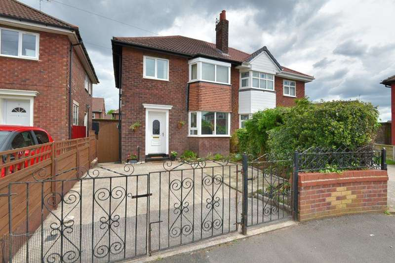 3 Bedrooms Semi Detached House for sale in Gawsworth Close, Bridge Hall, Stockport, SK3 8NA