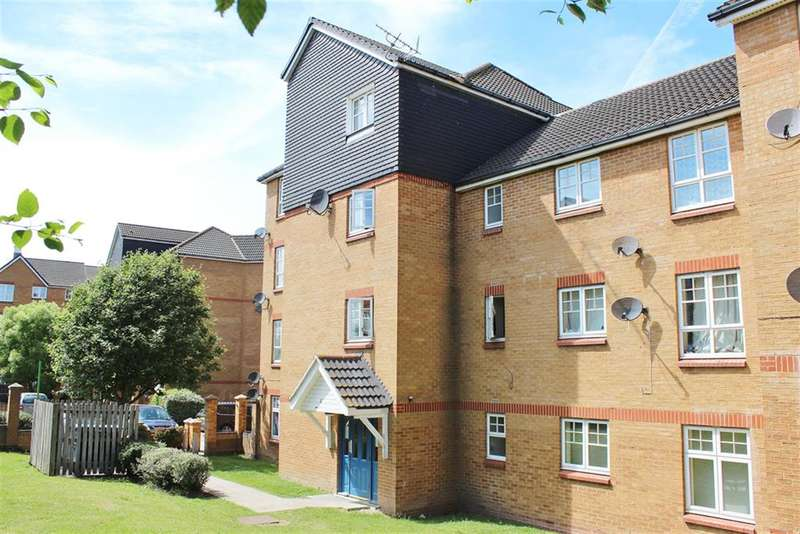 2 Bedrooms Flat for sale in Greenhaven Drive, Thamesmead, London, SE28 0LB