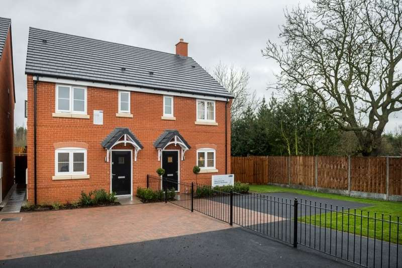 3 Bedrooms Semi Detached House for sale in Newfield Rise New Street, Measham, Swadlincote, DE12