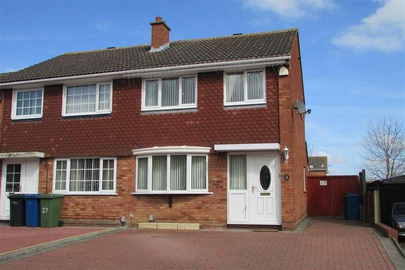 3 Bedrooms Semi Detached House for rent in Collett, Tamworth