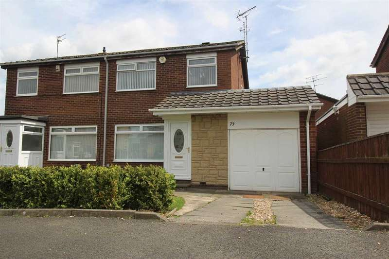 3 Bedrooms Semi Detached House for sale in Kirkbride Place, Eastfield Dale, Cramlington