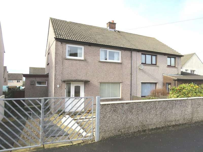 3 Bedrooms Semi Detached House for sale in Harpur Place, Thornhill, Cumbria