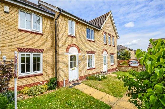 2 Bedrooms Terraced House for sale in Goldfinch Drive, Cottenham, Cambridge
