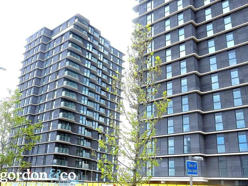 1 Bedroom Flat for sale in Glasshouse Gardens, Stratford, London, E20