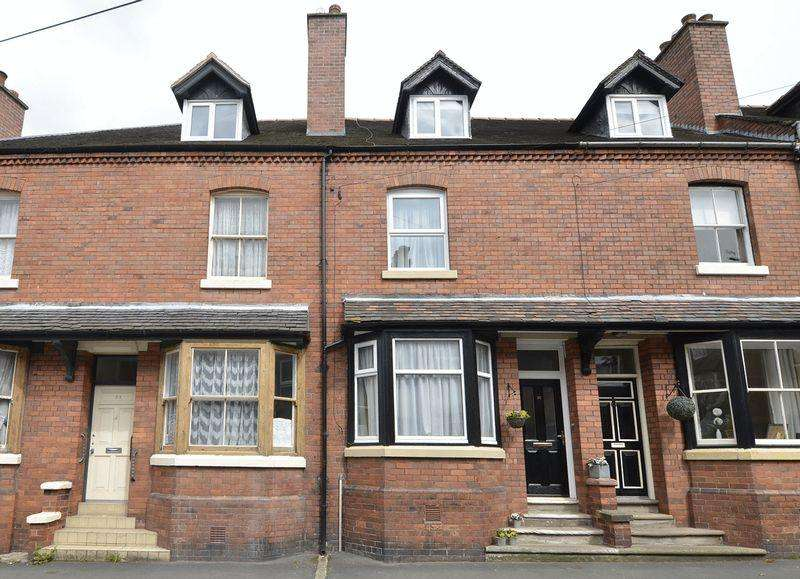 4 Bedrooms Terraced House for sale in Shirburn Road, Leek