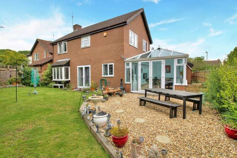 4 Bedrooms Detached House for sale in Tees Close, Valley Park, Chandlers Ford