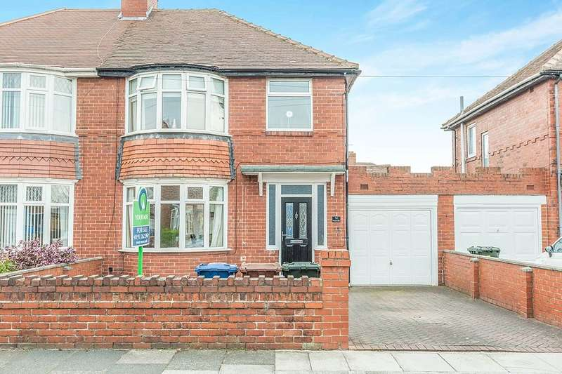3 Bedrooms Semi Detached House for sale in Peartree Gardens, Newcastle Upon Tyne, NE6