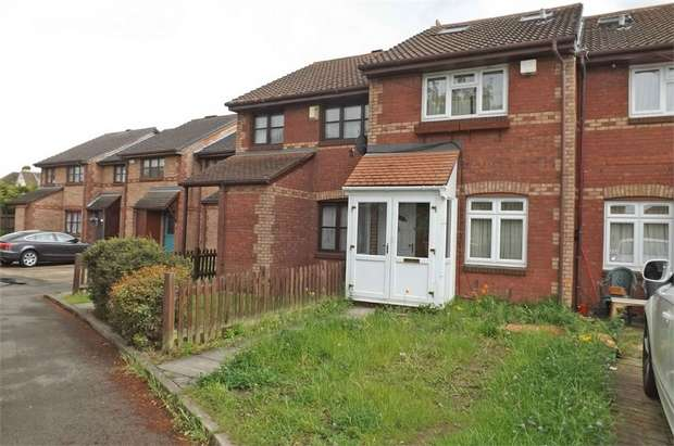 3 Bedrooms End Of Terrace House for sale in Lowry Crescent, Mitcham, Surrey