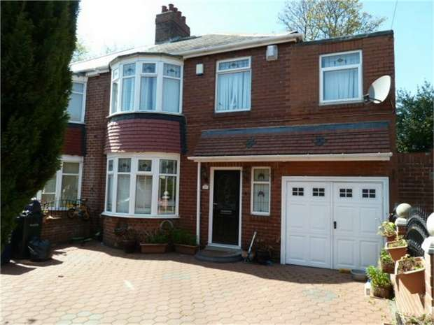5 Bedrooms Semi Detached House for sale in Keldane Gardens, Newcastle upon Tyne, Tyne and Wear
